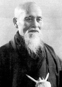 Morihei Ueshiba, fondateur de l'aikido